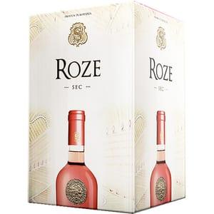 Vin rose sec SAMBURESTI, 5L, Bag in Box
