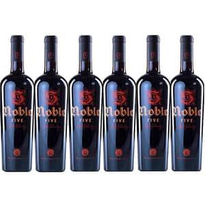 Vin rosu sec BUDUREASCA Noble 5, 0.75L, 6 sticle