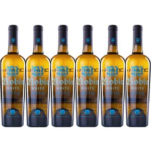 Vin alb sec Budureasca Noble White, 0.75L, 6 sticle