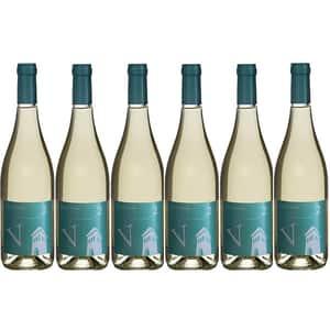 Vin alb sec Villa Vinea V2 Alb, 0.75L, 6 sticle