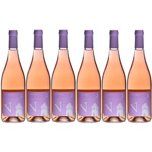 Vin rose sec VILLA VINEA V2 Rose, 0.75L, 6 sticle