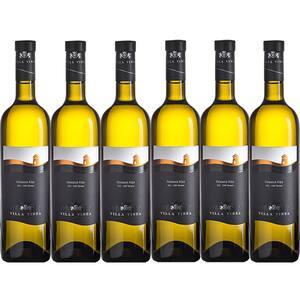Vin alb sec Villa Vinea Feteasca Alba Selection, 0.75L, 6 sticle
