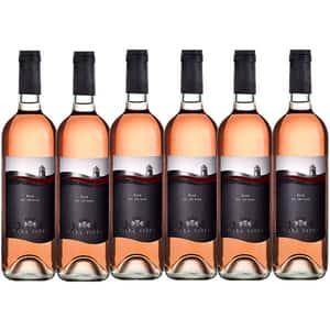 Vin rose sec VILLA VINEA Rose Pinot Noir Clasic, 0.75L, 6 sticle