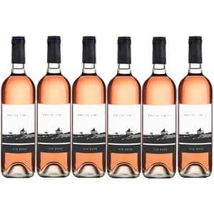 Vin rose sec Villa Vinea Castel Vinum Rose, 0.75L, 6 sticle