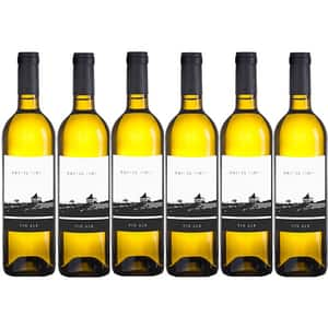Vin alb sec Villa Vinea Castel Vinum Alb, 0.75L, 6 sticle