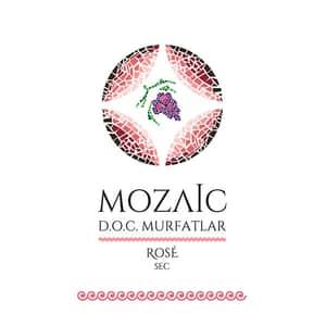 Vin rose sec Mozaic Mulfatlar Doc, 10L, Bag in Box