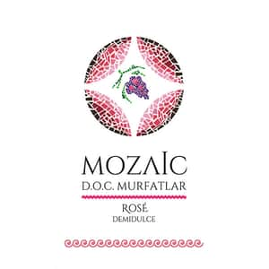 Vin rose demidulce Mozaic Mulfatlar Doc, 10L, Bag in Box
