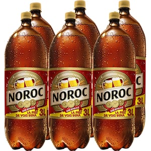 Bere blonda NOROC bax 3L x 6 sticle