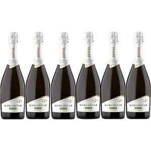 Vin spumant alb demisec Jidvei Margaritar Alb, 0.75L, 6 sticle