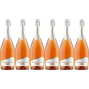 Vin spumant rose demisec Jidvei Margaritar, 0.75L, 6 sticle