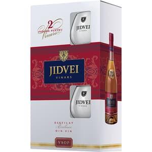 Vinars Jidvei, 0.75l + 2 pahare