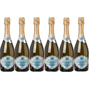 Vin spumant alb ICONIC ESTATE Rhein Extra Brut Imperial, 0.75L, 6 sticle