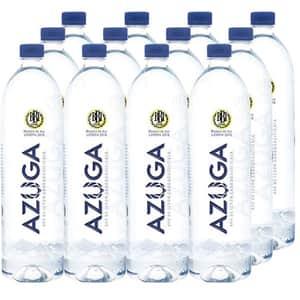 Apa minerala AZUGA carbogazificata bax 0.5L x 12 sticle