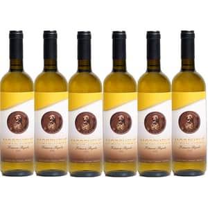 Vin alb sec Morpheus Feteasca Regala, 0.75L, 6 sticle