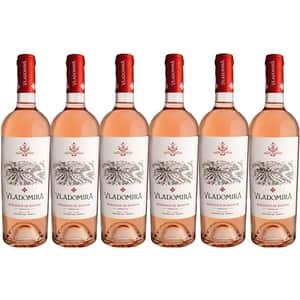Vin rose demidulce Hermeziu Vladomira Busuioaca de Bohotin, 0.75L, 6 sticle