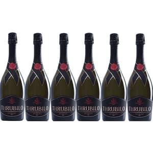 Vin spumant alb Hermeziu Thrubilo Sec, 0.75L, 6 sticle