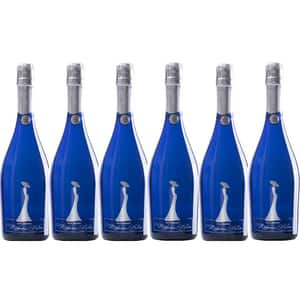 Vin petiant alb demisec Hermeziu, Madame Bleu, 0.75L, 6 sticle