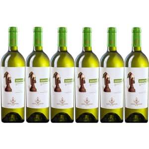Vin alb sec Hermeziu Sauvignon Blanc, 0.75L, 6 sticle