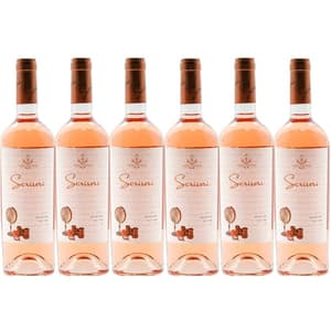 Vin rose sec Hermeziu Cuvee Roze, 0.75L, 6 sticle