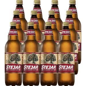 Bere blonda STEJAR Strong bax 1L x 12 sticle