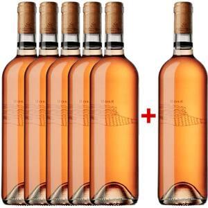 Vin rose sec Corcova Editie limitata, 0.75L, 5+1 sticle
