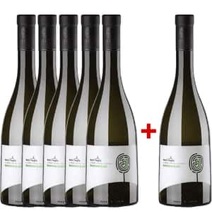 Vin alb sec Dealu Negru Jelna Sauvignon Blanc 0.75L, 5+1 sticle