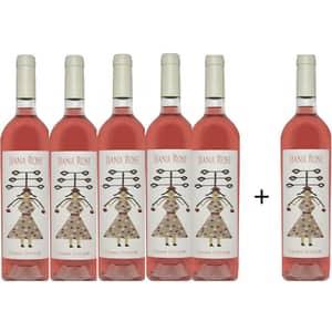 Vin rose sec Oprisor Jiana Rose, 0.75L, 5+1 sticle