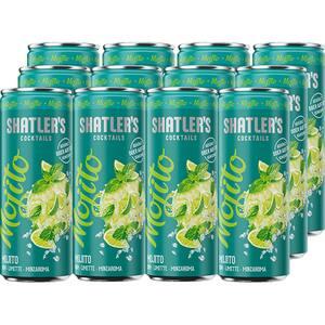 Cocktail Shatler's Mojito bax 0.25L x 12 doze