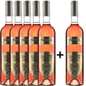 Vin rose sec Tohani Princiar Special Reserve Rose De Tohani, 0.75L, 5+1 sticle