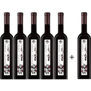 Vin rosu sec Oprisor Cupola Sanctis Sfantul Andrei, 0.75L, 5+1 sticle
