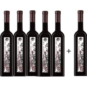 Vin rosu sec Oprisor Cupola Sanctis Sfantul Ilie, 0.75L, 5+1 sticle