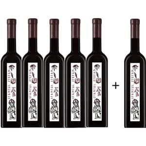 Vin rosu sec Oprisor Cupola Sanctis Sfantul Stefan, 0.75L, 5+1 sticle