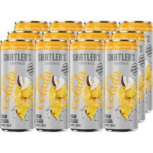 Cocktail fara alcool Shatler's Virgin Colada bax 0.25L x 12 doze