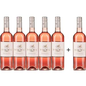 Vin rose sec PAUL MAS VIGNOBLES Rse de Shiraz, 0.75L, 5+1 sticle