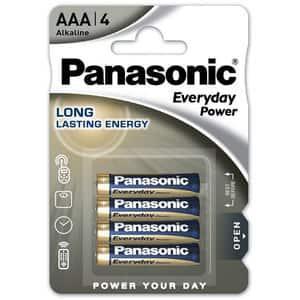 Baterii PANASONIC Everyday Power LR03/AAA, 4 bucati