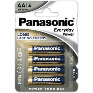 Baterii PANASONIC Everyday Power LR6/AA, 4 bucati