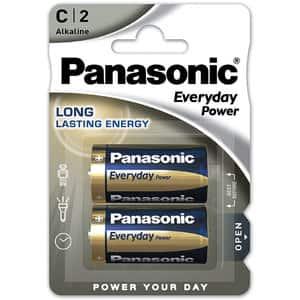 Baterii PANASONIC Everyday Power LR14/C, 2 bucati