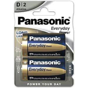 Baterii PANASONIC Everyday Power LR20/D, 2 bucati