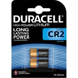 Baterii Litiu DURACELL CR2, Long Lasting Power, 3V, 2 bucati