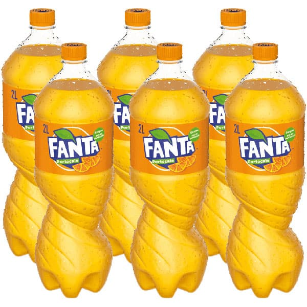 Bautura racoritoare carbogazoasa FANTA Orange bax 2L x 6 sticle