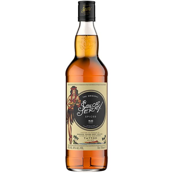 Rom SAILOR JERRY Rum, 0.7L