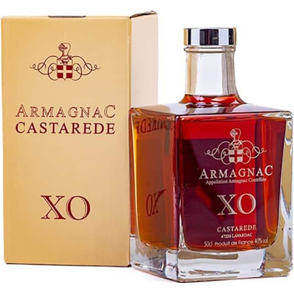 Coniac Armagnac Castarede XO Carafe, 0.5L