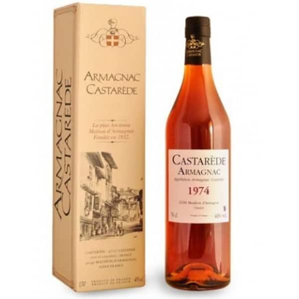 Armagnac Castarede 1974, 0.5L