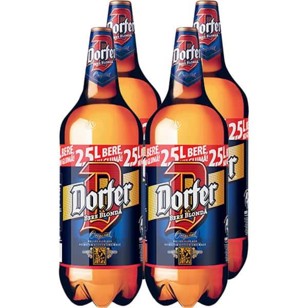 Bere blonda DORFER bax 2.5L x 4 sticle