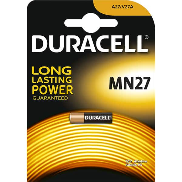 Baterie alcalina DURACELL MN27, Long Lasting Powe, 12V