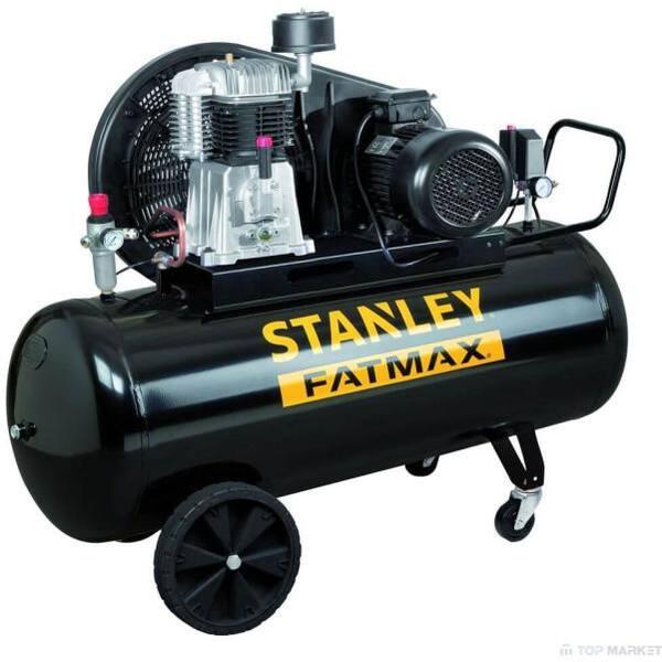 Compresor aer STANLEY FatMax BA 651/11/270, Electric, cu ulei, 270 litri, 5.5 CP, 11 Bar