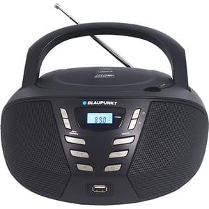 Radio CD portabil BLAUPUNKT Boombox BB7BK, FM, USB, negru