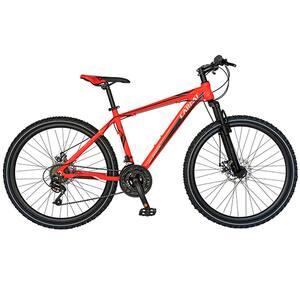 """Bicicleta Mountain Bike-HT CARPAT Spartan C2658C, 26"""", cadru aluminiu, portocaliu-negru"""