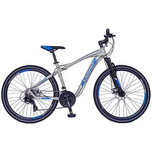 """Bicicleta Mountain Bike-HT CARPAT Galaxy C2693B, 26"""", cadru aluminiu, gri-albastru"""