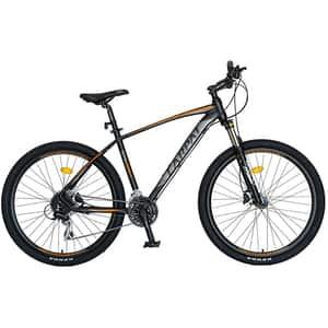 """Bicicleta MTB-HT CARPAT C2788HNP, 27.5"""", cadru aluminiu, negru-porticaliu"""